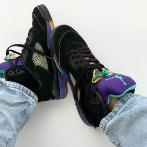 Jordan Retro 5 Black Grape (2013 Release)